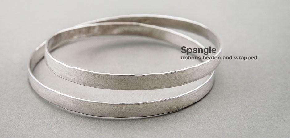 Spangle Infinity Bangle