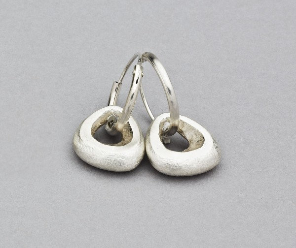 Buy Rock Hoops Natural from Latham & Neve Contemporary