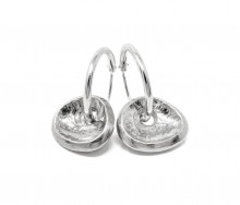 Latham & Neve Collections - Spira - Cocoa Hoop earrings