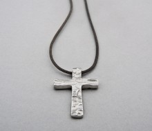 Latham & Neve Collections -  - Dune Cross on Leather