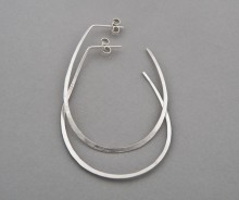 Latham & Neve Collections - Halo - Halo Hoop earrings large