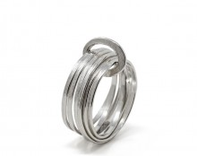 Latham & Neve Collections - Ripple - Halo Ring