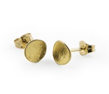 Latham & Neve Collections - Dune - Honesty Studs Small 18ct Gold