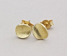 Latham & Neve Collections - Spira - Honesty Studs Small 18ct Gold