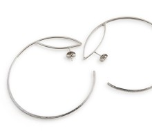 Latham & Neve Collections - Ripple Sprung - Loco Hoop Earrings
