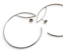 Latham & Neve Collections - Ripple - Loco Hoop Earrings