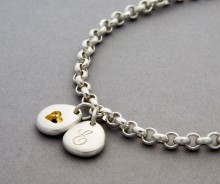 Latham & Neve Collections - Pebble - Pebble Double bracelet
