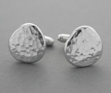 Latham & Neve Collections - Coco - Ripple Pebble Cufflinks