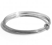 Latham & Neve Collections - Ripple - Ripple Multi Bangle All Silver