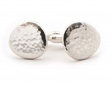 Latham & Neve Collections - Honesty - Ripple Pebble Cufflinks