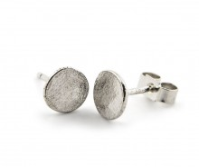 Latham & Neve Collections - Honesty - Ripple Stud silver