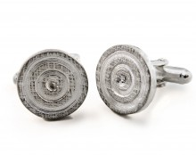 Latham & Neve Collections - Spira - Target Silver Cufflinks